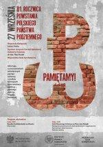 Uroczystości w Dzień Polskiego Państwa Podziemnego – Kraków, 27 września 2020