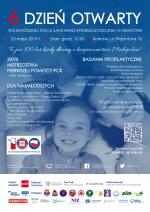 6 Dzień Otwarty Wojewódzkiej Stacji Sanitarno-Epidemiologicznej w Krakowie – 25 maja 2019 r.