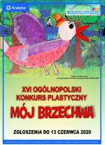"""XVI OGÓLNOPOLSKI KONKURS PLASTYCZNY """"MÓJ BRZECHWA"""""""